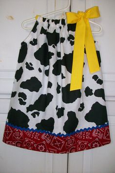 Hey, I found this really awesome Etsy listing at https://www.etsy.com/listing/111613770/pillowcase-dress-jessie-toy-story