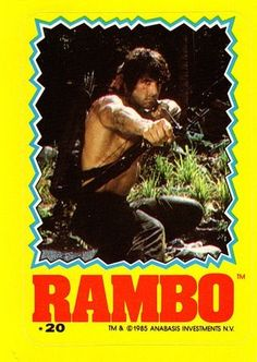 Rambo Trading card