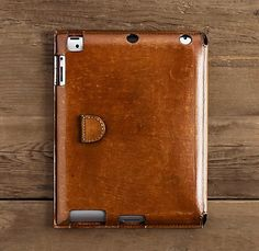 ARTISAN LEATHER IPAD2® COVER CHESTNUT Just in case I ever get an ipad