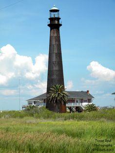 Lighthouse by Crystal Beach