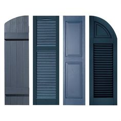 Exterior Shutter shopping for your home can be a difficult and time consuming process. Exterior Shutter shopping for your home can be a difficult and time consuming process. Exterior Shutter Colors, Window Shutters Exterior, Exterior Wall Design, Outdoor Shutters, House Shutters, Exterior Paint Colors For House, House Windows, Cottage Shutters, Siding Colors