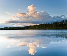 Mirror lake by Rob Orthen, via Flickr