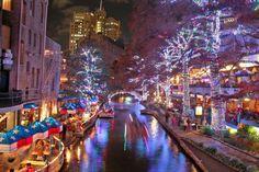 20 best san antonio riverwalk christmas images on