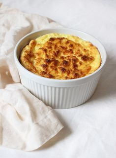 Cheese Soufflé: From The Chantecaille Sisters