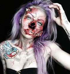 -Halloween-make-up artista-assustador-sarah-mudle-6
