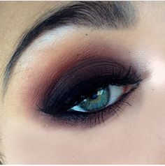 "Smokey eye inspired by mac's ""sketch"""