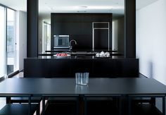 White is the traditional color for kitchens, denoting hygiene, brightness, and modernity. But these five black-clad kitchens, in houses from San Francisco to Copenhagen, show that some truly stand-out rooms embrace the dark side.