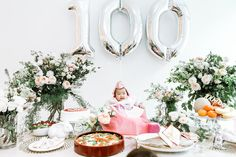 100 Days photo session and party