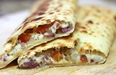 Pastelão Assado (com massa de pastel) ~ PANELATERAPIA - Blog de Culinária, Gastronomia e Receitas