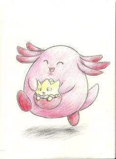 Chansey's egg run by Mon311.deviantart.com on @deviantART