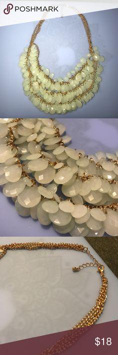 Sea foam Green Statement Necklace Sea foam Green Statement Necklace Jewelry Necklaces