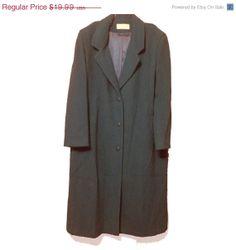 20 OFF SALE XL Vintage blazer sweater coat with by KddOccessories, $8.00