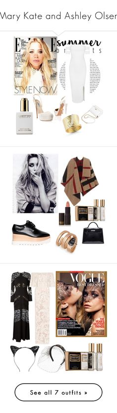 """Mary Kate and Ashley Olsen"" by renesmi ❤ liked on Polyvore featuring ElizabethAndJames, ashleyolsen, olsen, marykateandashleyolsen, Olsen, Elizabeth and James, Prada, Posh Girl, CelebrityStyle and mary_kate_olsen"
