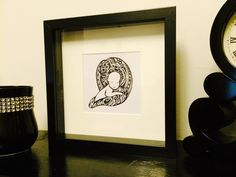 A original hand drawn piece of art. Frame is 23 x 23 cm. Req … All details can be found on Shpock the boot sale app – click here! Price: £ 45.00