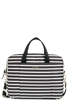 41d9757bc8 kate spade new york  classic nylon stripe  laptop bag (13 Inch) available