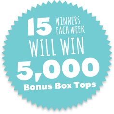 Play each day for a chance to win 5,000 boxtops for St. Luke's!