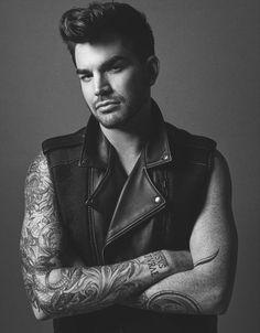 Adam Lambert  by Darren Black for NOTION Magazine, April, 2015 (hair: Jay Doan :) )