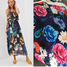 Tie Dye Skirt, Strapless Dress, Skirts, Dresses, Fashion, Gowns, Moda, Fashion Styles, Dress