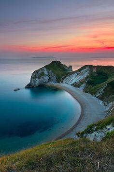 May O' War Bay, Dorset, England