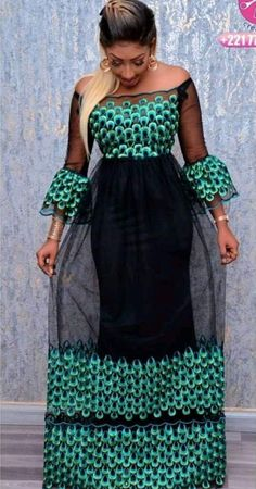 Trending Ankara and Net styles you should try out. Long African Dresses, African Lace Styles, Ankara Short Gown Styles, African Print Dresses, African Fashion Ankara, Latest African Fashion Dresses, African Inspired Fashion, African Print Fashion, Africa Dress