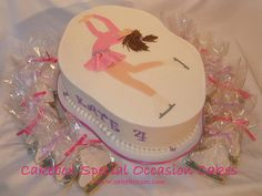 Figure Skater Cake and Cookies
