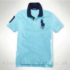Cheap ralph lauren polo shirts, sale custom tipped collar big pony ralph lauren steelblue #sf1000-0106, polo ralph lauren shirts for men cheap sale