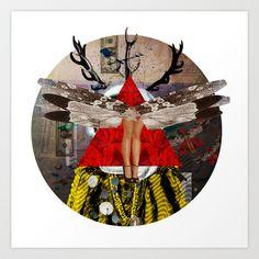 Voodoo Dance · Crop Circle Art Print by Marko Köppe - $19.99
