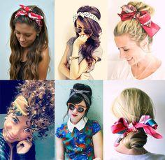 Come usare bandana + Inspi - Italiano Newest Hair Design Curly Hair Tips, Hair Dos, Curly Hair Styles, Bandana Hairstyles, Cute Hairstyles, Headbands For Short Hair, Pin Up Hair, Beautiful Long Hair, How To Make Hair