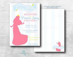 Once Upon a Dream Princess Aurora Invitation by xxPepperAvenuexx