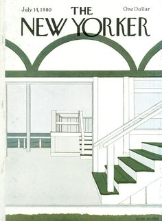 The New Yorker - Monday, July 14, 1980 - Issue # 2891 - Vol. 56 - N° 21 - Cover by : Gretchen Dow Simpson