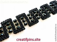Bead bracelet Shine of luxury. - Bead bracelet Shine of luxury. Best Picture For jewelry art For Your Taste You are looking for so - Beaded Jewelry Designs, Handmade Beaded Jewelry, Handmade Bracelets, Beaded Bracelets, Seed Bead Patterns, Beading Patterns, Seed Bead Necklace, Diy Jewelry Making, Beads And Wire