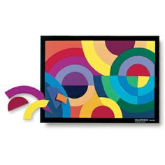 Puzzle art uses both sides of your brain! Flex your intellectual muscles while indulging your creative side. Finely constructed and hand-painted on both sides, the handmade wood pieces can be used to create unique shapes and objects. 27.99