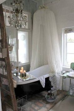 50+ Amazing Shabby Chic Bathroom Ideas