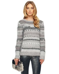 VIEW ALL APPAREL - WOMENS - Michael Kors textured intarsia sweater, small