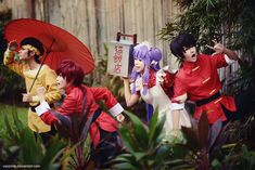 Ranma ½ Anything-Goes Obstacle Course Race by vaxzone.deviantart.com