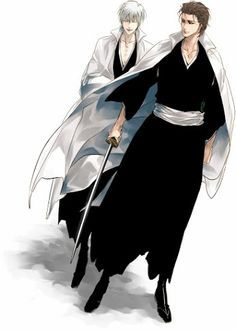 Anime Bleach Gin ichimaru and Aizen  Fanart,Picture,Gif,Cosplay - Collections - Google+