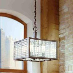 Entryway ::: Home Decorators Collection 4-Light Oil-Rubbed Bronze Pendant with Etched Clear Glass Shades-16781 - The Home Depot