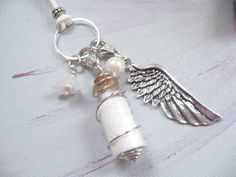 Necklace HEAVEN'S DUST Bottle Pendant by BlueMoonHL on Etsy, $26.00