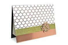 $5.00 Rustic Card Blank Note Card Handmade Greeting by AmeliaRyCreations