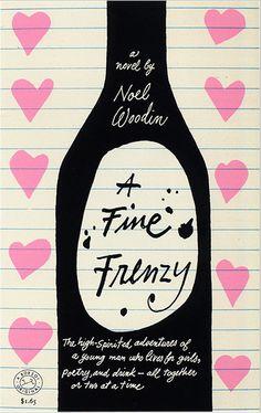 A Fine Frenzy by Noel Woodin  #illustration #wine