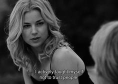 Pin for Later: 20 Times You Wanted to Be Just as Fierce as Emily Thorne on Revenge When She Shares Her Insight Into Human Nature