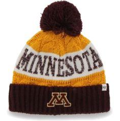 '47 Brand Women's Minnesota Golden Gophers Maroon/Gold Swanson Cuff Knit Hat | DICK'S Sporting Goods