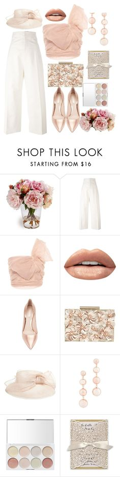 """WALTZ OF THE FLOWERS"" by elen25 ❤ liked on Polyvore featuring Jacquemus, RED Valentino, Huda Beauty, Nicholas Kirkwood, Phase Eight and Rebecca Minkoff"