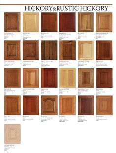 Rustic Hickory Cabinets Wholesale Prices On Cabinet Doors Solid - Hickory shaker style kitchen cabinets