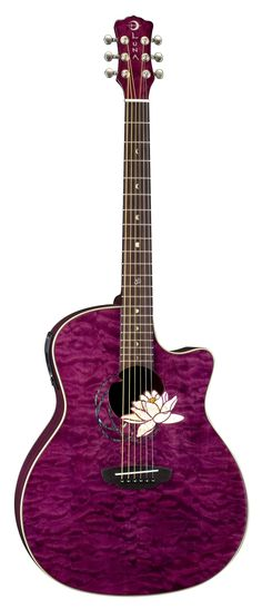 One of the first guitars I ever tried out! I really really like the flower!