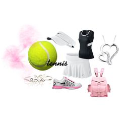 """""""tennis outfit"""" by lizzysm on Polyvore"""