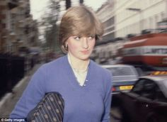 Lady Diana Spencer would go on to become one of the most photographed women in the world