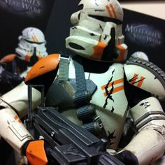 #Toytrooper: Fun Factoid: The 2nd airborne clones are like the paratroopers of the 212th Attack Battalion