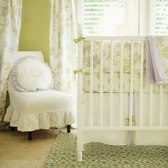 Lavender Fields Forever Baby Bedding, skirt and crib sheet, not the bumper