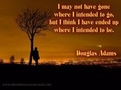 Douglas Adams, motivational
